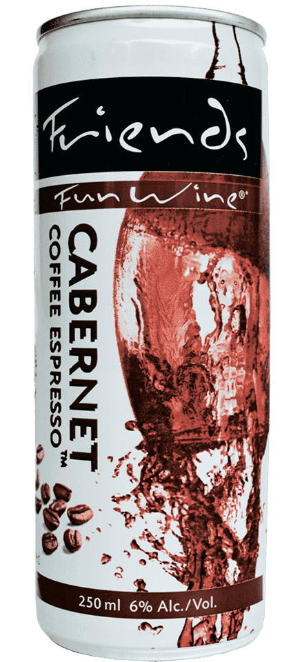 FRIENDS FUN WINE CABERNET COFFEE ESPRESSO™