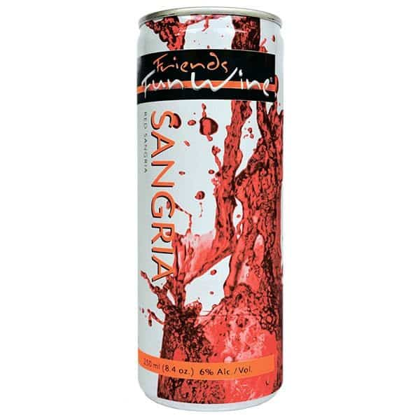 FRIENDS FUN WINE RED SANGRIA™ 6% 250ml