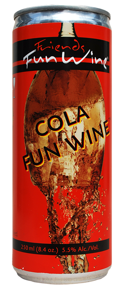 FRIENDS FUN WINE COLA FUN WINE™ 6% 250ml