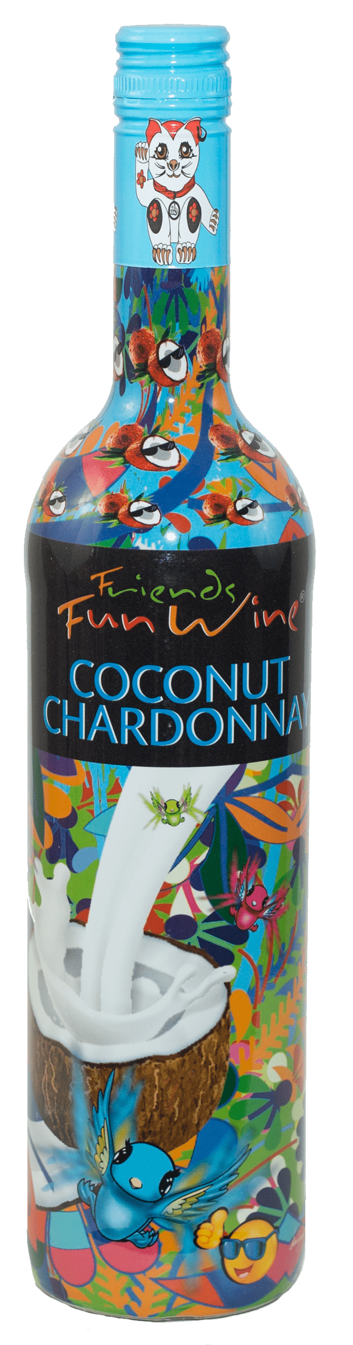 FRIENDS FUN WINE COCONUT CHARDONNAY™ 5.5% 750ml